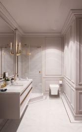 Affordable bathroom design ideas for apartment 29