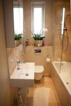 Affordable bathroom design ideas for apartment 33