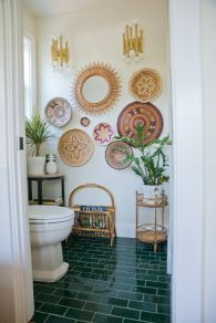 Affordable bathroom design ideas for apartment 38