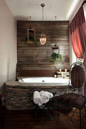 Affordable bathroom design ideas for apartment 40