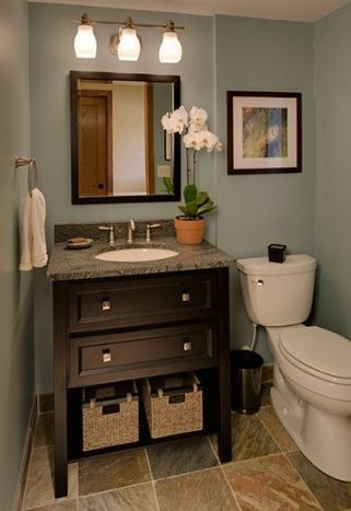 Affordable bathroom design ideas for apartment 46