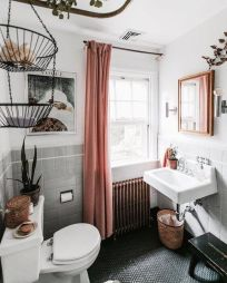 Amazing bathroom curtain ideas for 2019 13