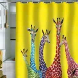 Amazing bathroom curtain ideas for 2019 14