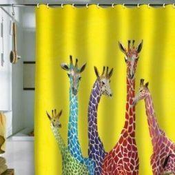 Amazing bathroom curtain ideas for 2019 14