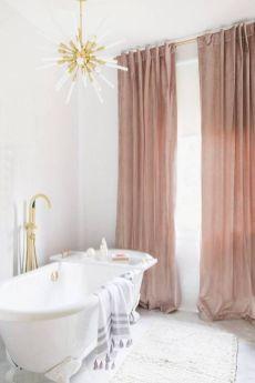 Amazing bathroom curtain ideas for 2019 15