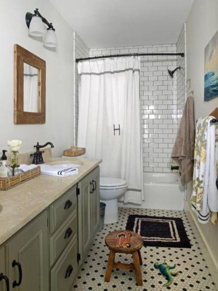 Amazing bathroom curtain ideas for 2019 25