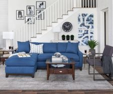 Awesome big living room design ideas with stairs 47