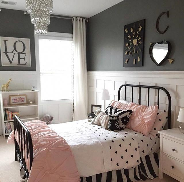 Charming fun tween bedroom ideas for girl 04