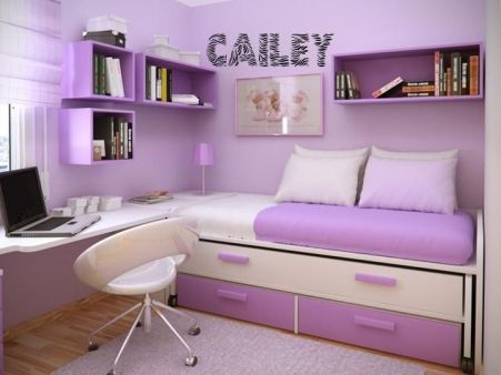 Charming fun tween bedroom ideas for girl 34