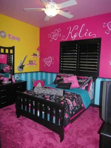 Charming fun tween bedroom ideas for girl 43
