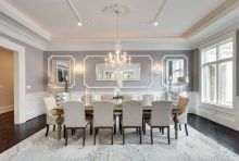 Comfy formal table centerpieces decorating ideas for dining room 08
