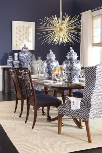 Comfy formal table centerpieces decorating ideas for dining room 09