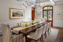 Comfy formal table centerpieces decorating ideas for dining room 10