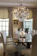 Comfy formal table centerpieces decorating ideas for dining room 13