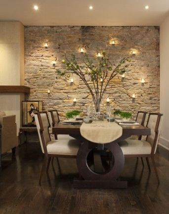 Comfy formal table centerpieces decorating ideas for dining room 18