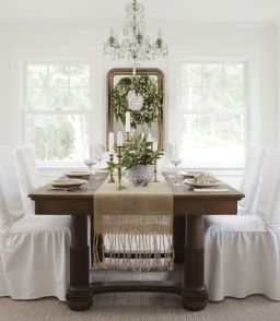 Comfy formal table centerpieces decorating ideas for dining room 20