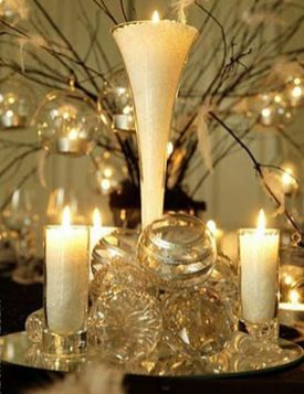 Comfy formal table centerpieces decorating ideas for dining room 27