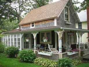 Cool small gardening ideas for tiny house 06
