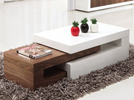 Creative coffee table design ideas for living room 26