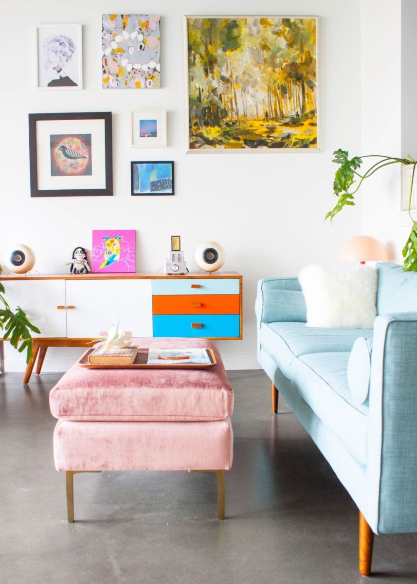 Creative coffee table design ideas for living room 30