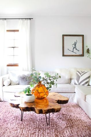 Creative coffee table design ideas for living room 41
