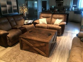 Creative coffee table design ideas for living room 42