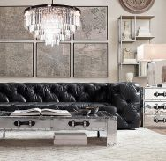 Creative coffee table design ideas for living room 43