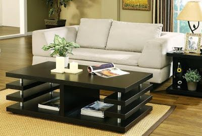 Creative coffee table design ideas for living room 53