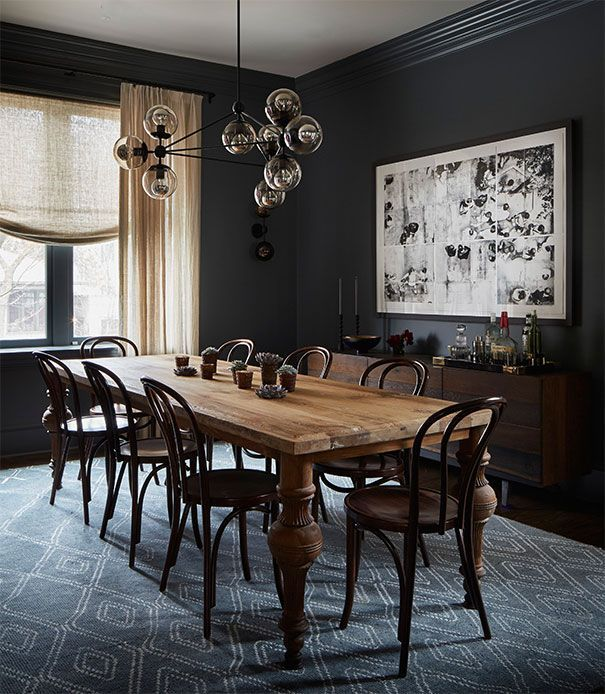 Cute dining room rug decorating ideas 19