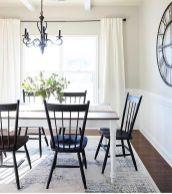 Cute dining room rug decorating ideas 21