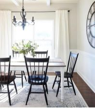 Cute dining room rug decorating ideas 21