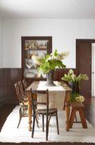 Cute dining room rug decorating ideas 29