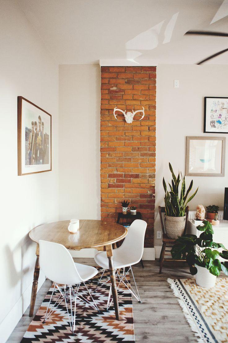 Cute dining room rug decorating ideas 35