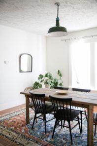 Cute dining room rug decorating ideas 48