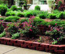 Elegant backyard landscaping ideas using bricks 40