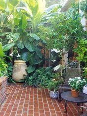 Elegant backyard landscaping ideas using bricks 43