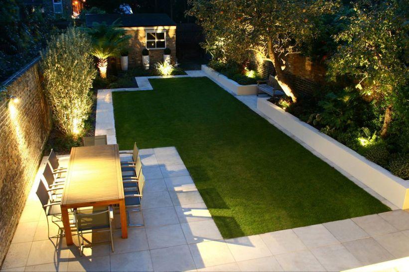 Gorgeous night yard landscape lighting design ideas 13