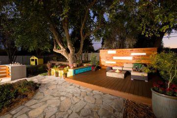 Gorgeous night yard landscape lighting design ideas 14