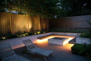 Gorgeous night yard landscape lighting design ideas 15