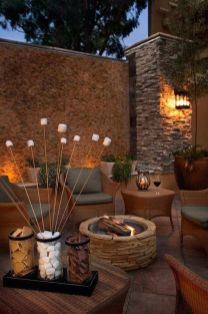Gorgeous night yard landscape lighting design ideas 27