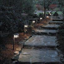 Gorgeous night yard landscape lighting design ideas 33