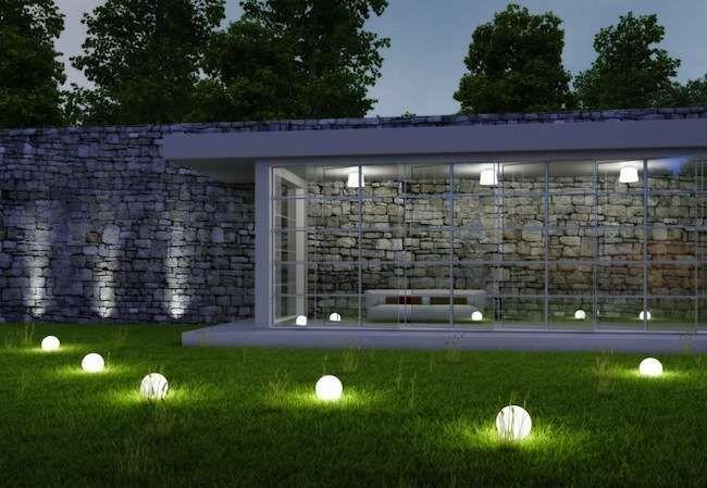 Gorgeous night yard landscape lighting design ideas 34