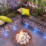 Gorgeous night yard landscape lighting design ideas 47