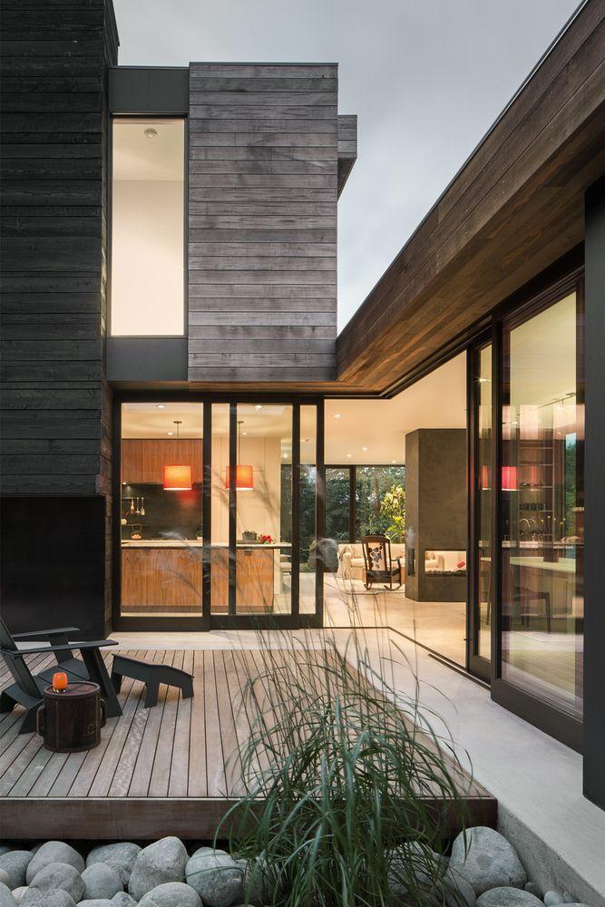 Luxurious house architecture designs inspiration ideas 42
