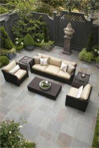 Modern small outdoor patio design decorating ideas 07
