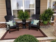 Modern small outdoor patio design decorating ideas 21