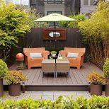 Modern small outdoor patio design decorating ideas 37