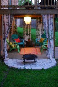 Modern small outdoor patio design decorating ideas 46