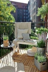 Modern small outdoor patio design decorating ideas 52