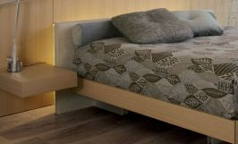 Stunning grey bedroom flooring ideas for soft room 05